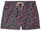 Atalaye Luna Short-Length Printed Swim Shorts