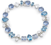 Judith Jack Cubic Zirconia, Crystal, Marcasite, Spinnel and Sterling Silver Bracelet