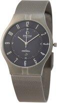 Obaku Men's V122 V122XTLMT Silver Stainless-Steel Quartz Watch with Dial