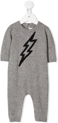 Zadig & Voltaire Kids Lightning Intarsia Knit Pajama