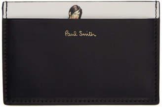 Paul Smith Black Naked Lady Card Holder