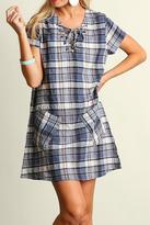 Umgee USA Mad For Plaid Dress