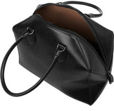 Alaia Glossed textured-leather tote