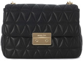 MICHAEL Michael Kors Sloan black padded shoulder bag Black