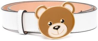 Moschino Teddy motif buckled belt