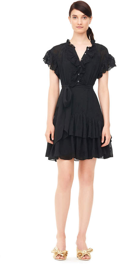 Dree Embroidered Dress