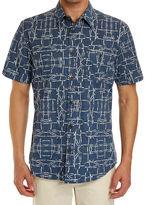 Sportscraft Short Sleeve Tapered Muster Shirt