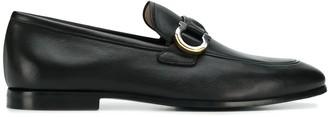 Salvatore Ferragamo Gancini logo loafers