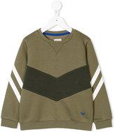 Armani Junior contrast sweatshirt