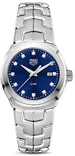 Tag Heuer Link Quartz Diamond Watch, 32mm