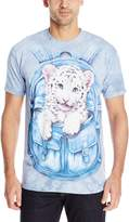 The Mountain Backpack White Tiger T-Shirt