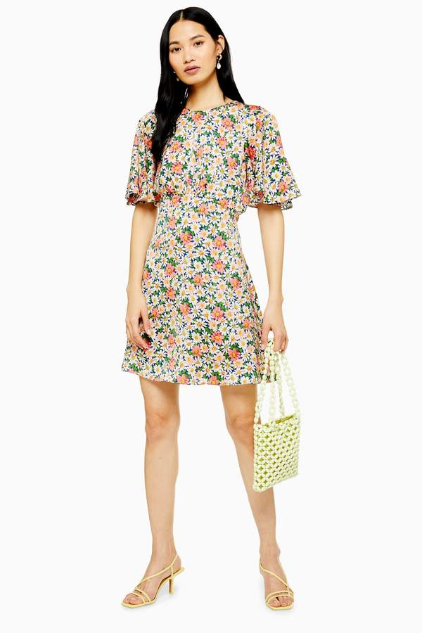 d572b2f41a73 Topshop Sleeve Dress - ShopStyle