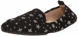 Yosi Samra Women's Skyler Loafer Black Constellation Print KSD 8 M US