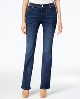 INC International Concepts Indigo Wash Curvy Bootcut Jeans, Only at Macy's