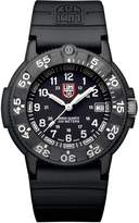 Luminox Men's Original Navy SEAL Dive Watch 3001 Rubber Swiss Quartz Watch