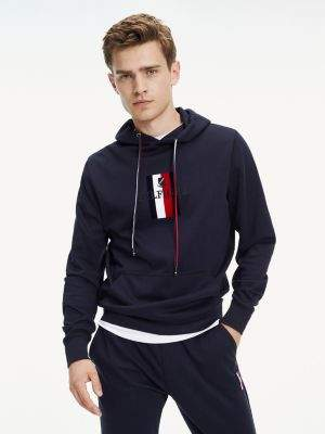 Tommy Hilfiger Logo Embroidery Hoody