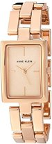 Anne Klein Women's Quartz Metal and Alloy Dress Watch, Color:Rose Gold-Toned (Model: AK/2638RGRG)
