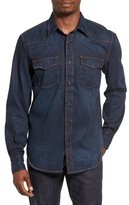 Jean Shop Men's Garth Denim Western Shirt