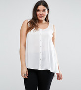 Koko Plus Top With Button Front