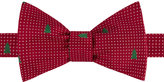 Tommy Hilfiger Men's Dot Tree Print To-Tie Bow Tie