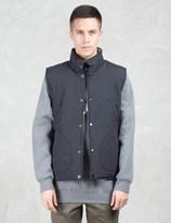 HUF Black Bandana Reversible Vest