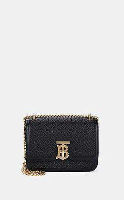 Burberry Women's TB Small Leather Chain Shoulder Bag - Black