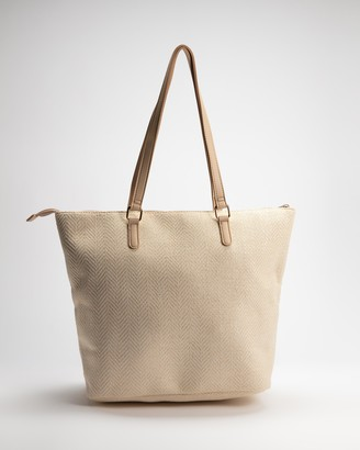 Dorothy Perkins Women's White Tote Bags - Beach Shopper Bag - Size One Size at The Iconic