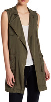 Dex Asymmetric Zip Vest