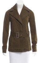 A.L.C. Notch-Lapel Belted Jacket