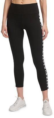 DKNY Logo Tape Leggings