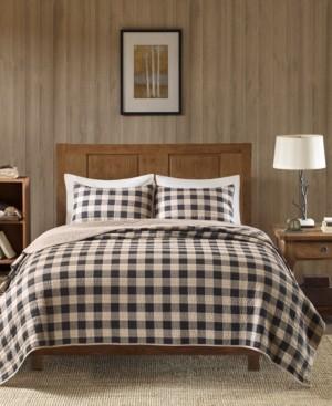 Woolrich Buffalo Check Reversible 3-Pc. Oversized King/California King Quilt Mini Set