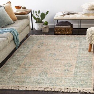 Bungalow Rose Vierzon Power Loom Gray Rug Rug Size Rectangle 5 3 X 7 3 Shopstyle