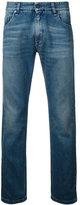 Fendi illustrate slim-fit jeans - men - Cotton - 31