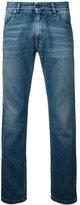 Fendi illustrate slim-fit jeans - men - Cotton - 32