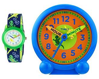 Timex Boys TWG014900 Time Machines Geckos Time Teaching Toolkit