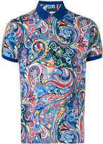 Etro paisley print polo shirt - men - Cotton - XXL