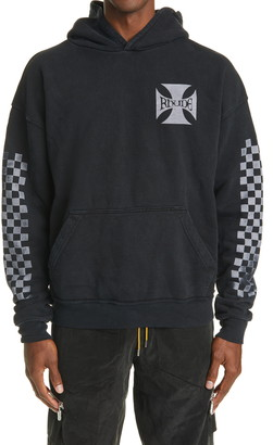 Rhude Classic Checkers Hooded Sweatshirt