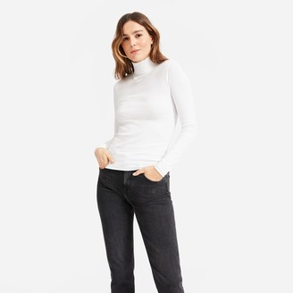 Everlane The Pima Micro Rib Turtleneck