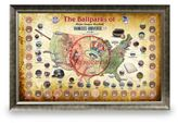 Steiner Sports Framed Major League Baseball Parks Map Collage