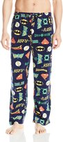 Briefly Stated Brieflytated DC Comic Jutice League Character Logo Lounge Pant for men (mall)