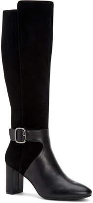 Alfani Women Step 'N Flex Nelsonnn Wide-Calf Dress Boots, Women Shoes