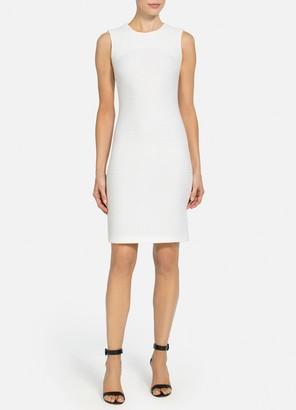 St. John Seaside Chain Stitch Dress