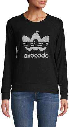 Theo & Spence Avocado Graphic Sweatshirt