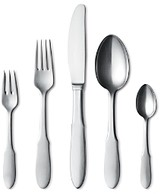 Georg Jensen Mitra 5 Piece Place Setting