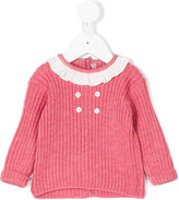 Little Bear ruffled neck jumper