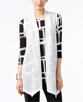 Alfani Long Open-Front Vest, Only at Macy's