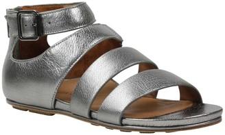 L'Amour des Pieds Leather Sandals - Doroteia