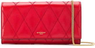 Givenchy quilted chain wallet