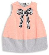 Fendi Baby Girl's Bow Dress