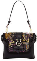 Christian Louboutin Rubylou Piste aux Etoiles Small Calf Leather Shoulder Bag